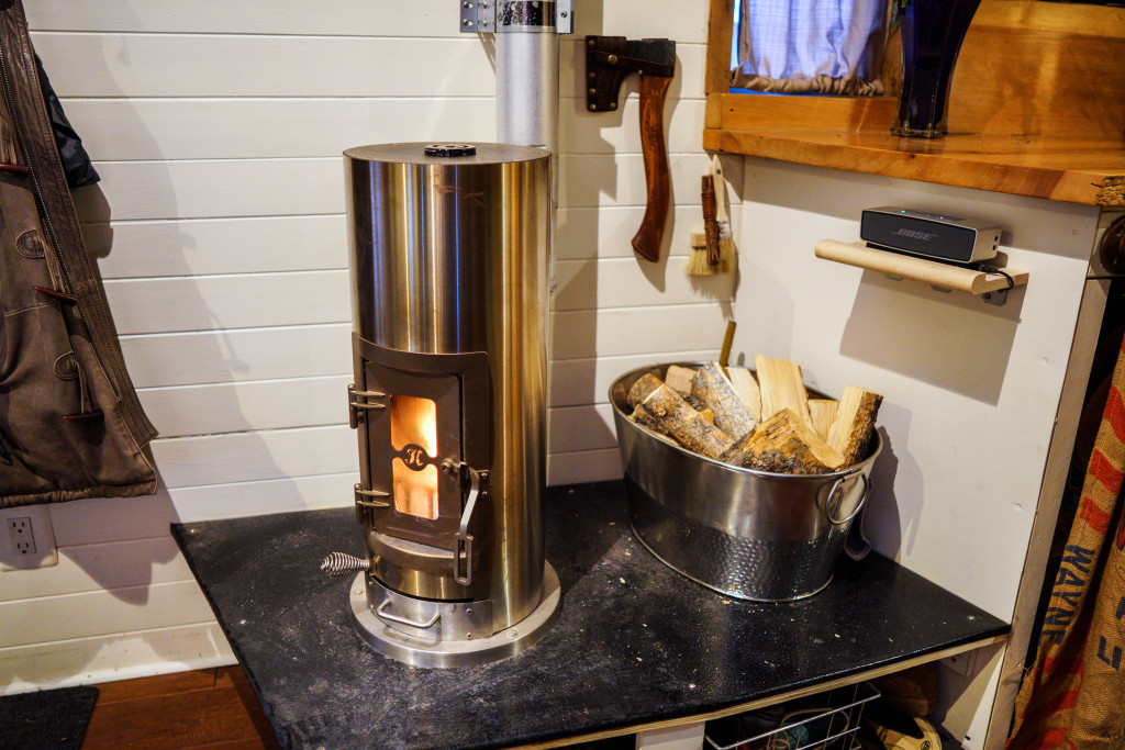 Tiny house heating tips for wintering and staying warm in for Best heating source for home