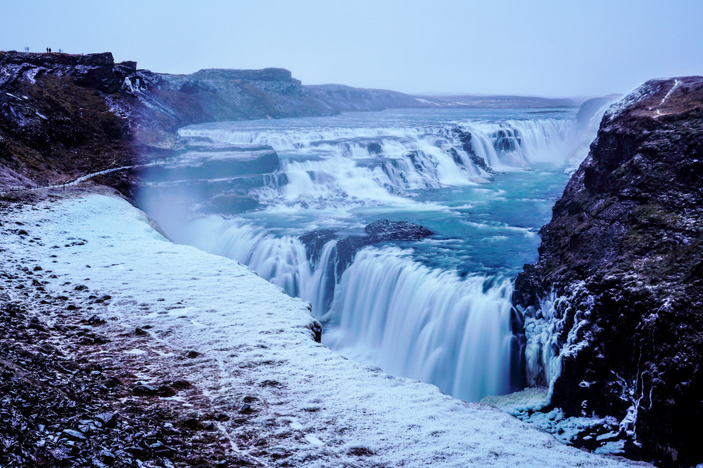 Gullfoss Waterfall - 0002