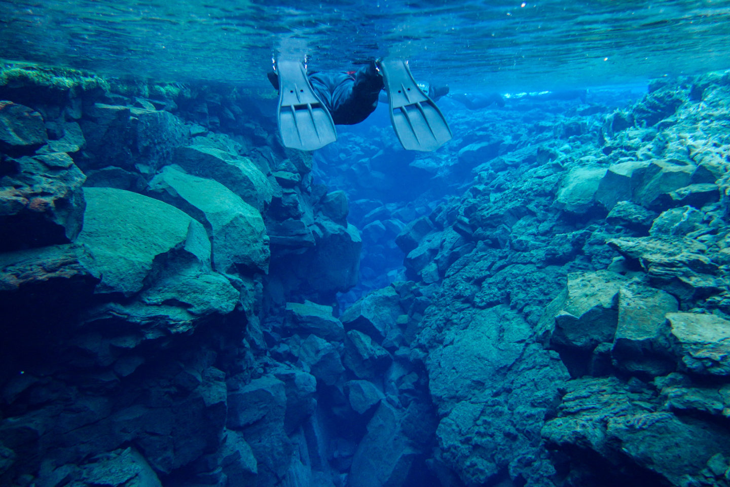 Snorkeling Iceland's Silfra Fissure in Winter