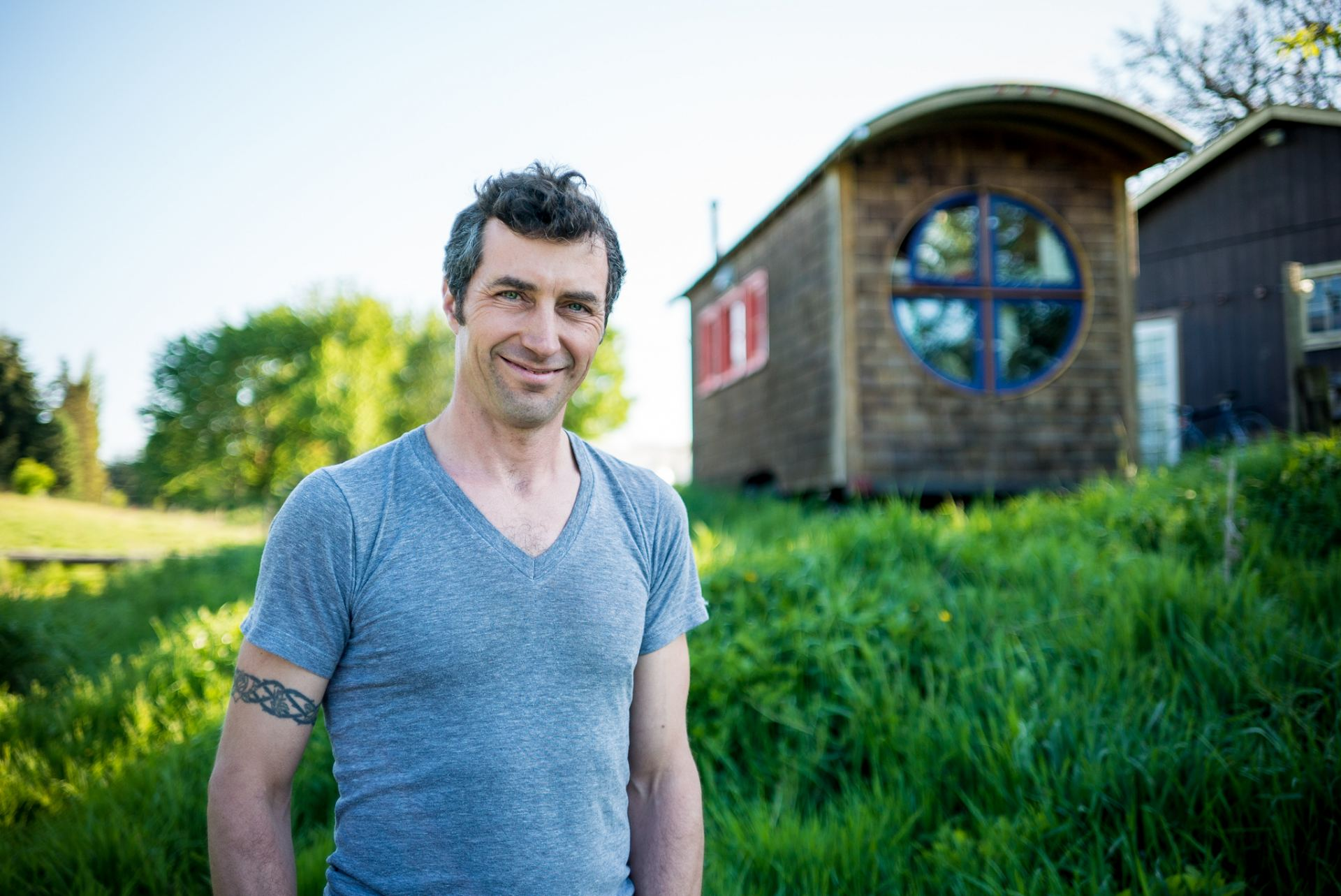 Tiny House Builder showcases THREE of his Masterpieces