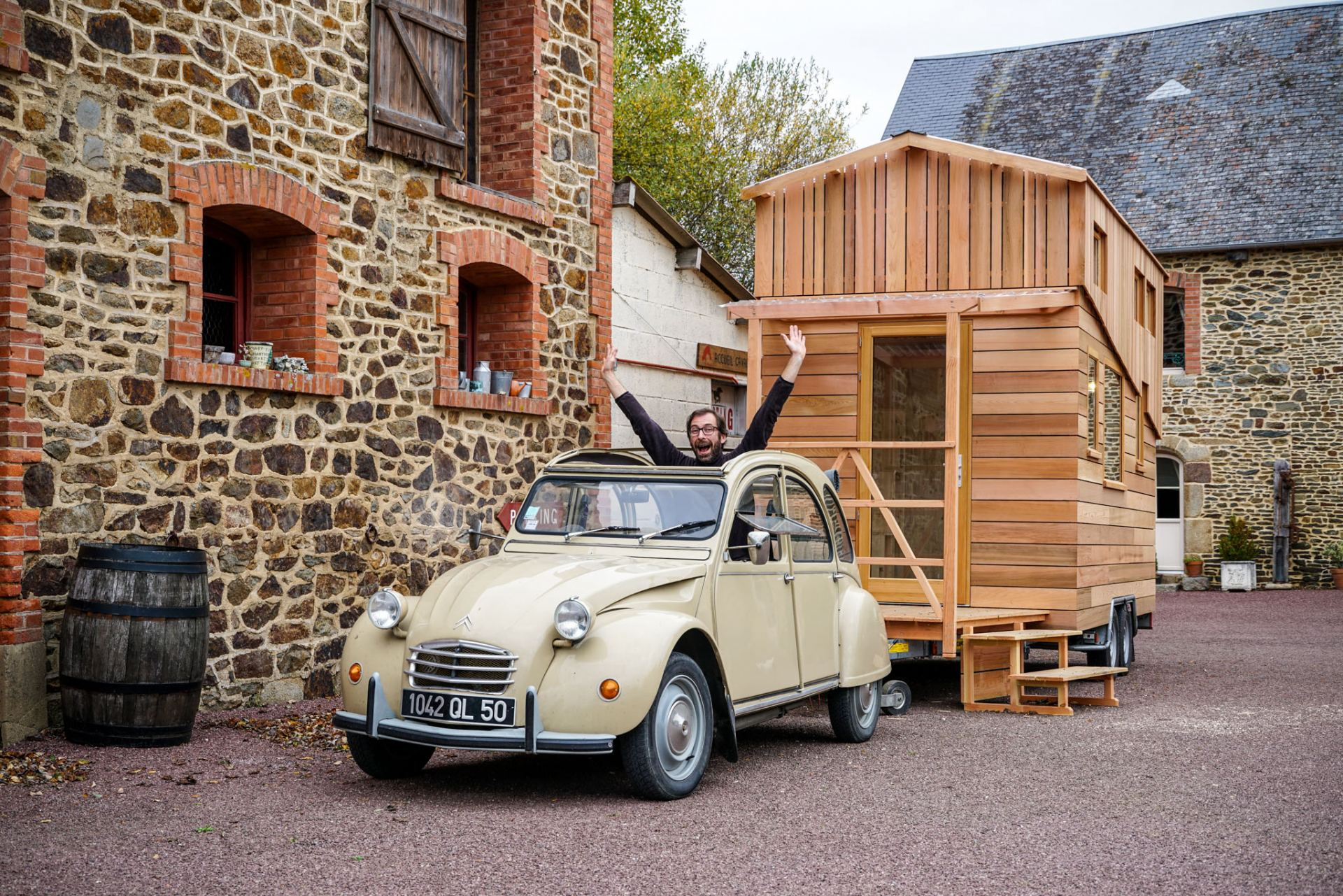 French House French Tiny House Movement Growing With Quot La Tiny House Quot