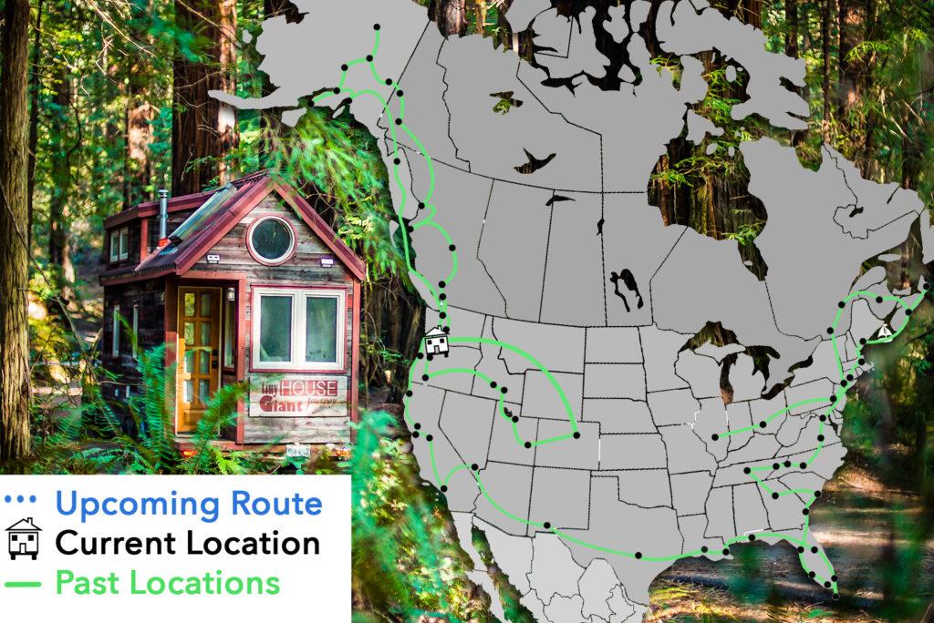 tiny house travel log