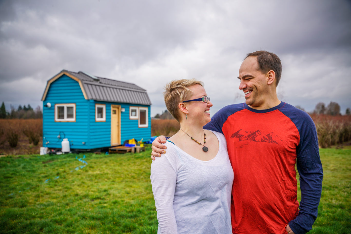 Laura & Rory's Little Blue Vancouver Tiny House