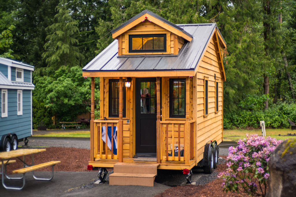Atticus tiny house