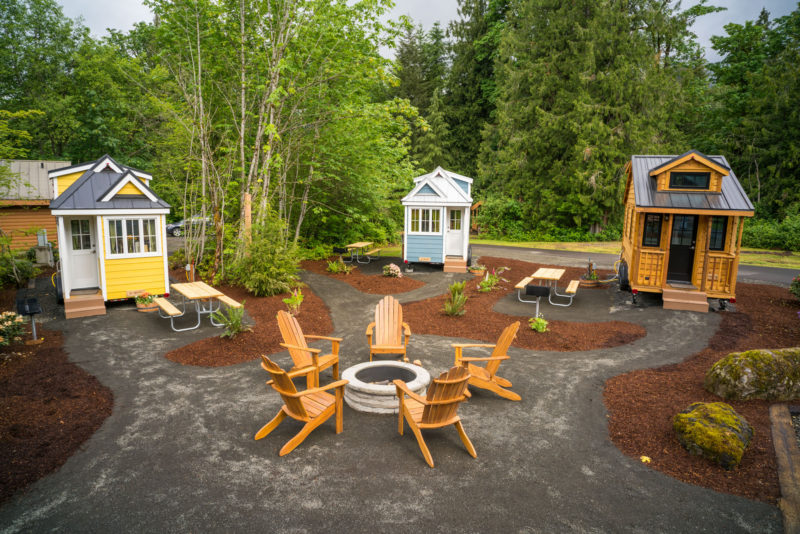 tiny house parking. My Home Is One Of The Five Privately Owned Tiny Homes At Mt. Hood House Village. Rent Approximately $450 A Month (depending On Your Spot), Parking 9