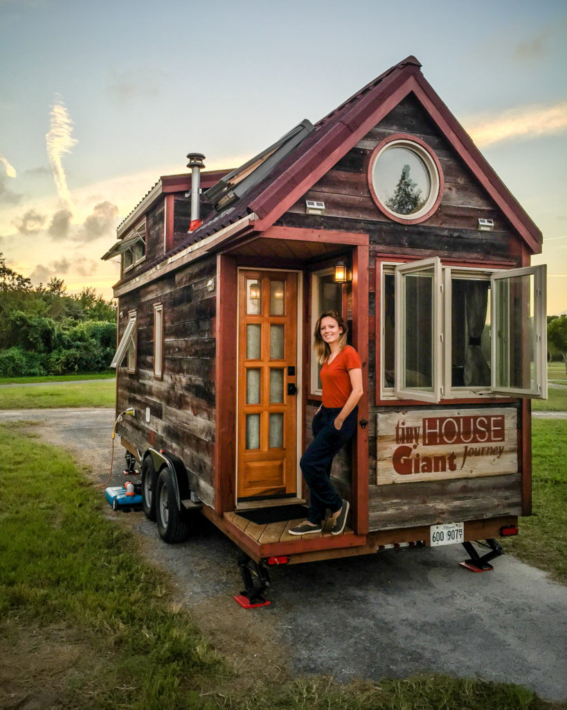 Tiny house cost detailed budgets itemized lists photos for Price to build a home