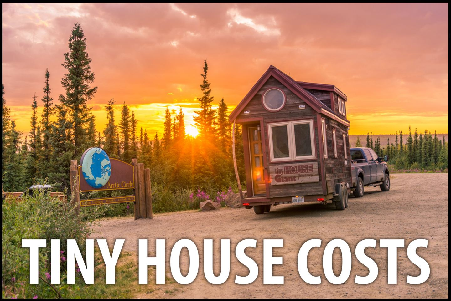 Tiny House Giant Journey FemaleDriven Alternative Living - Couple takes tiny house big adventure