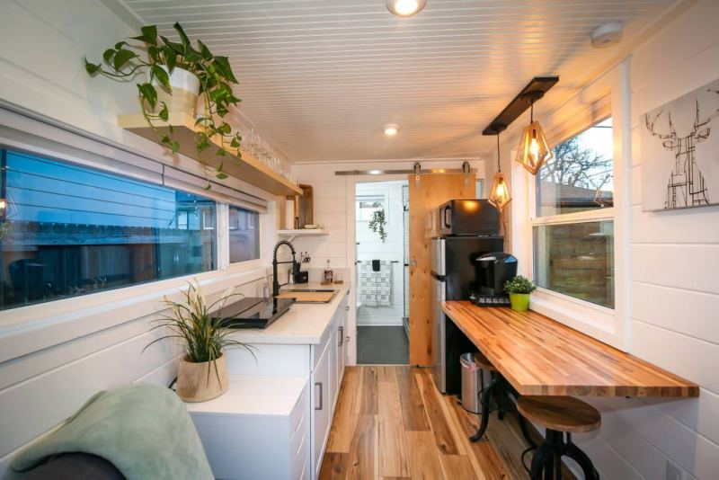 Shipping Container Becomes Modern Backyard Additional Dwelling Unit