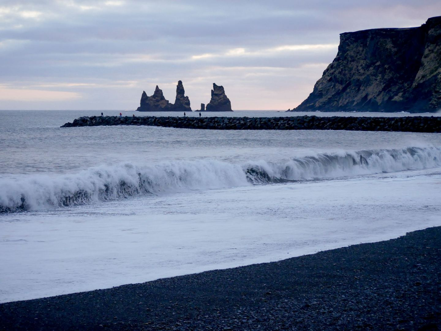 South Iceland Vik Black Sand Beach