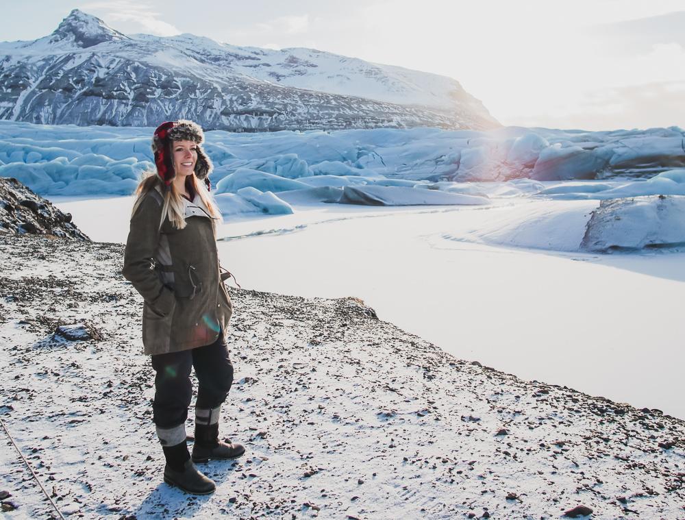 South Iceland Glacier