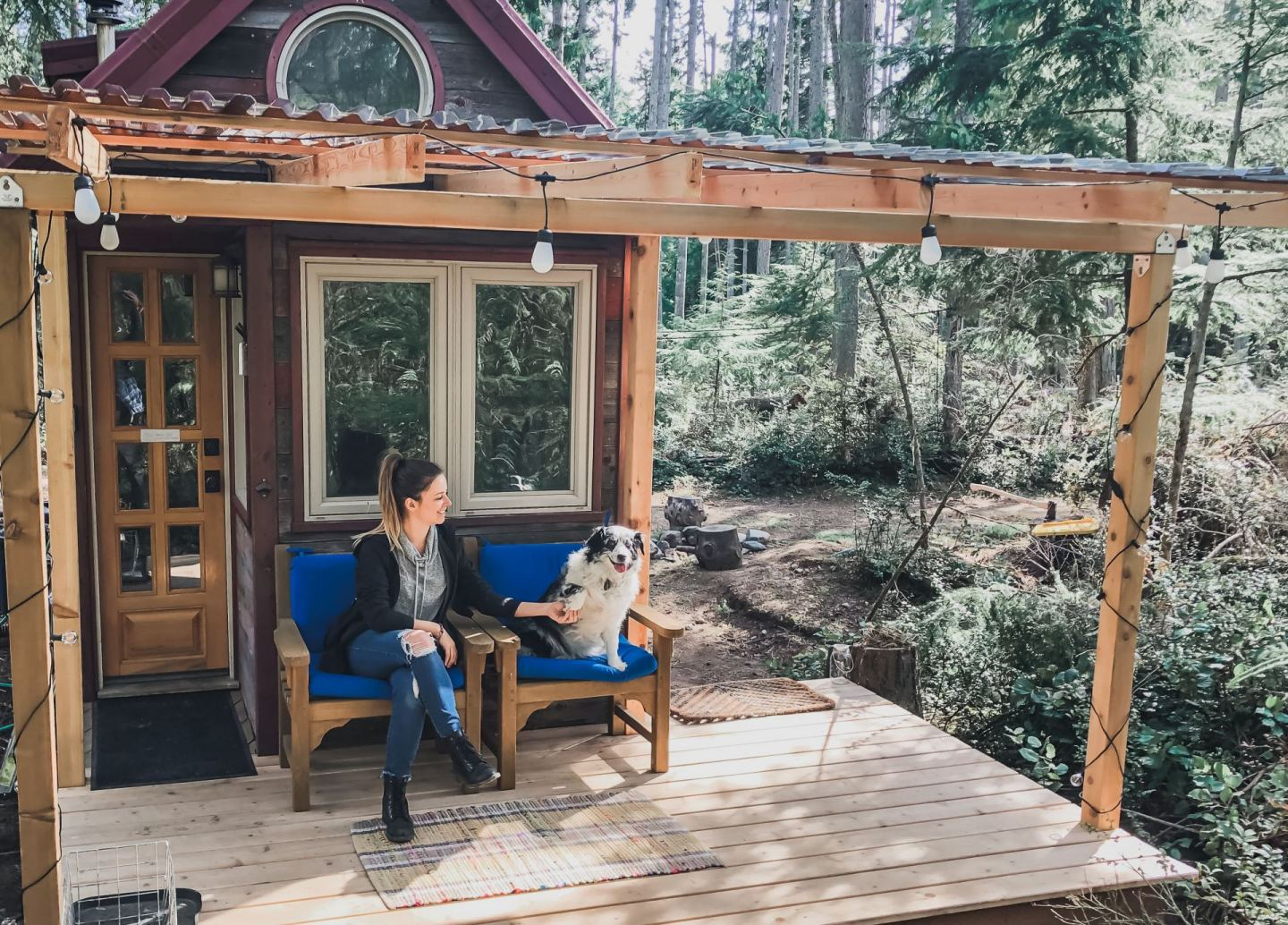 Tiny House Porch