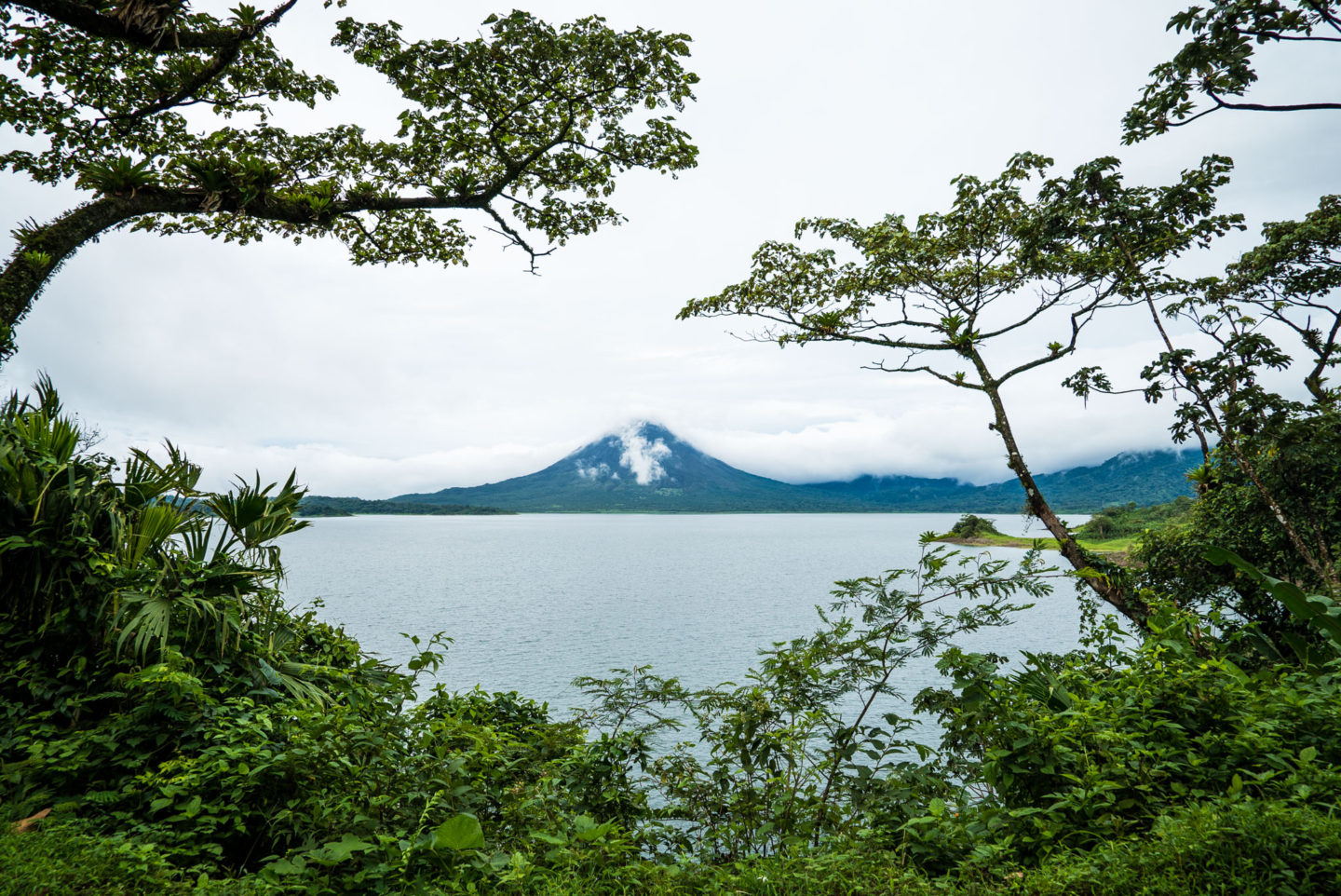"Costa Rica Volcano! Hike and Swim inside ""Cerro Chato"""