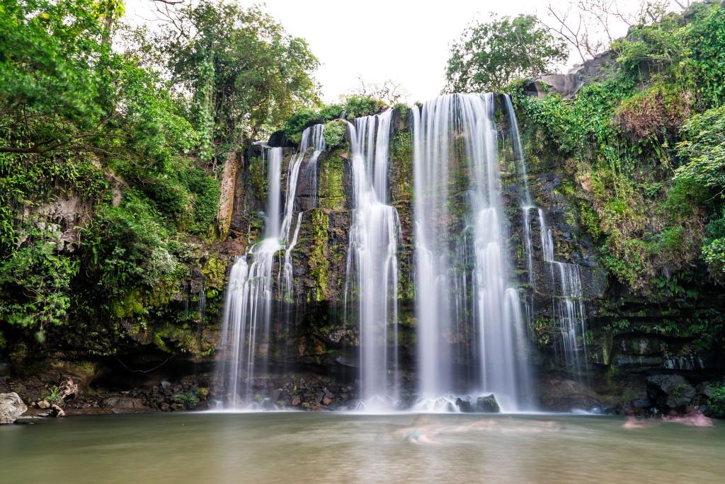 Llanos de Cortes Costa Rica Waterfall