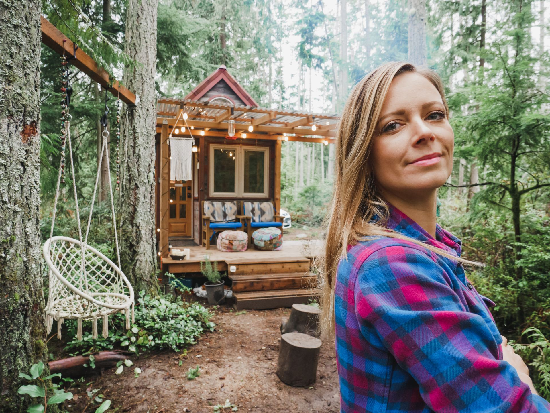 Jenna Portrait Tiny House
