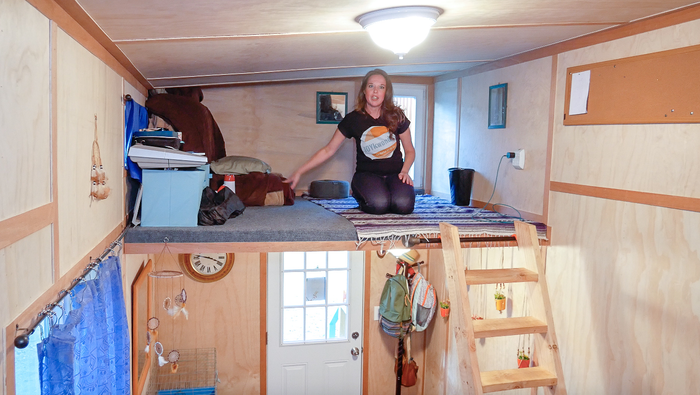 Single Mom Tiny House