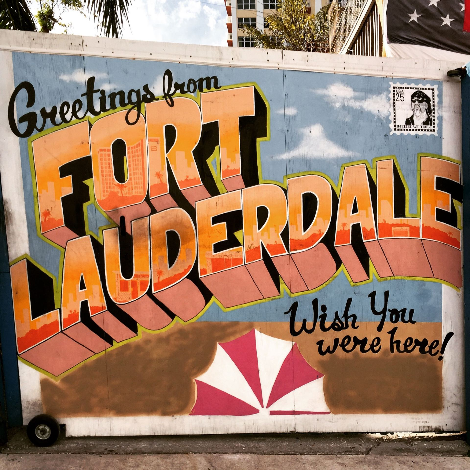 Fort Lauderdale, FL: Purple Mermaids & Drive-In Movies