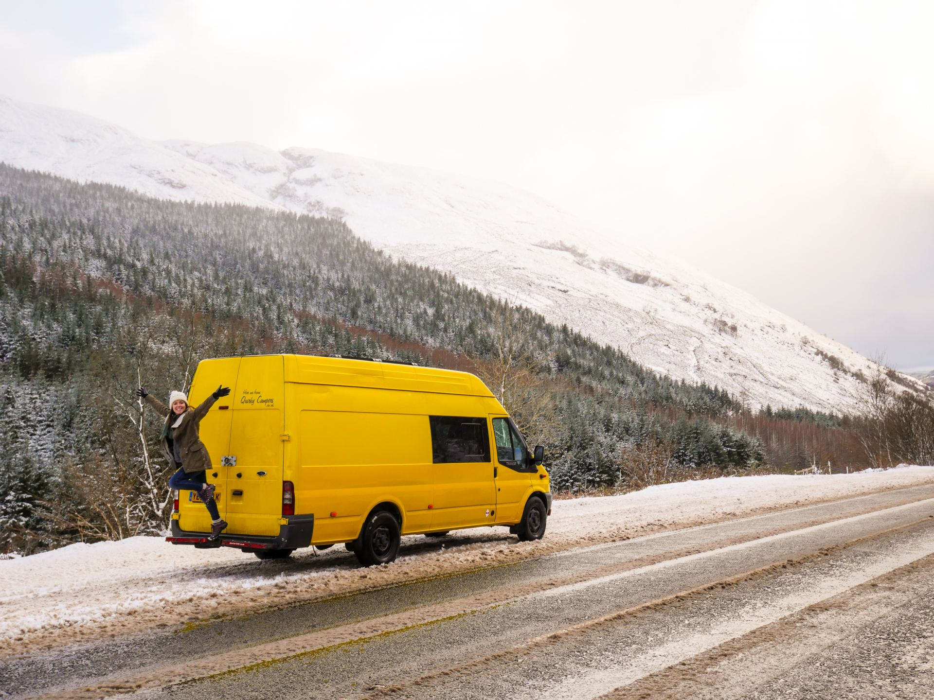 Renting a Campervan for a Great Britain Road Trip