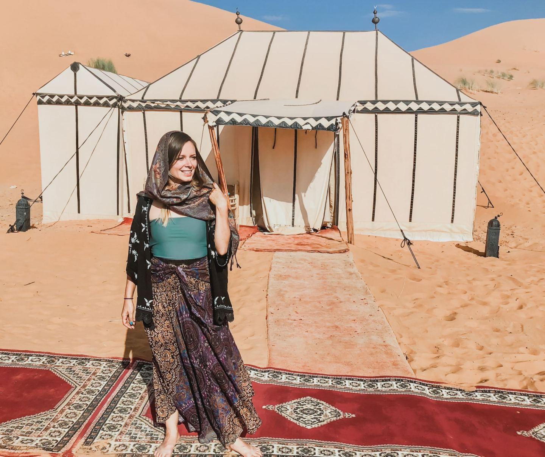Sahara Desert Glamping Experience