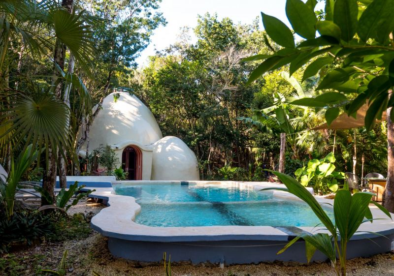 Ecotourism: Stay in a Tiny Dome Home in Mexico