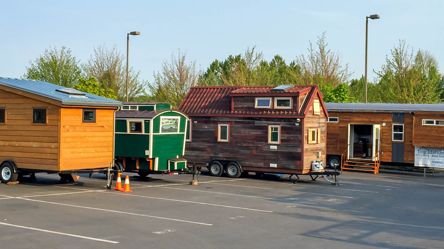Portland, OR: Tiny House Conference & Bike Gangs