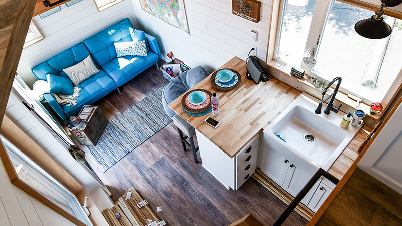 Stunning Tiny House for a Retired Police Officer