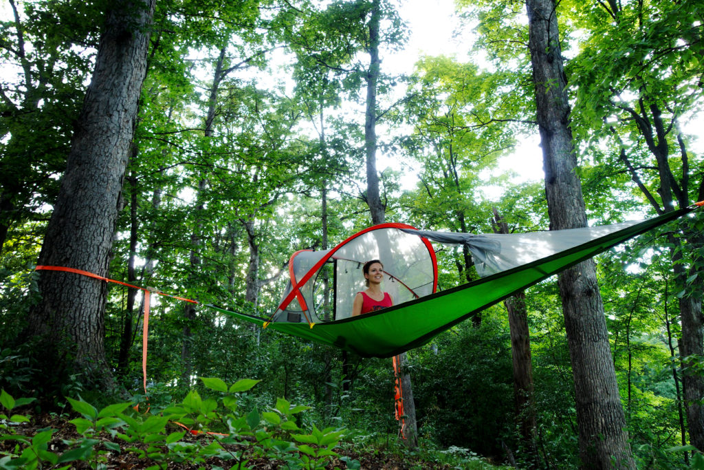 Tree Tent & Tree Tent used for Tiny House spare bedroom relaxing and camping