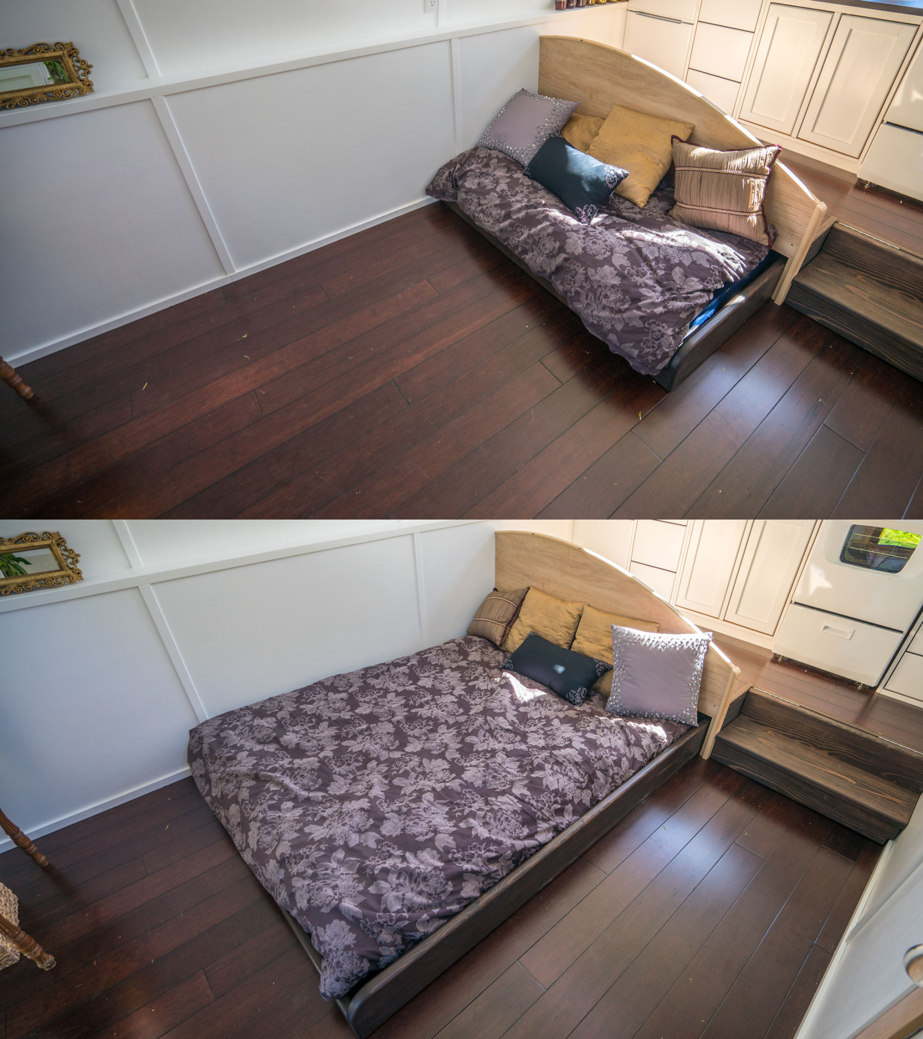 Dewdrop tiny house pull out bed 0002 tiny house giant for 4 bedroom tiny house