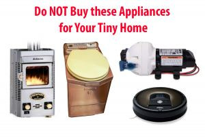 Tiny House Appliances