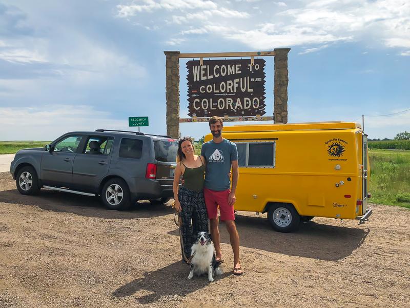 Vintage Camper Road Trip