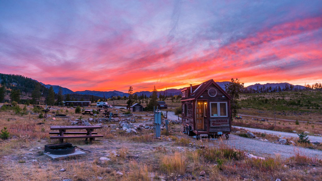 Tiny House Lowry Campground Sunset Colorado - 0001