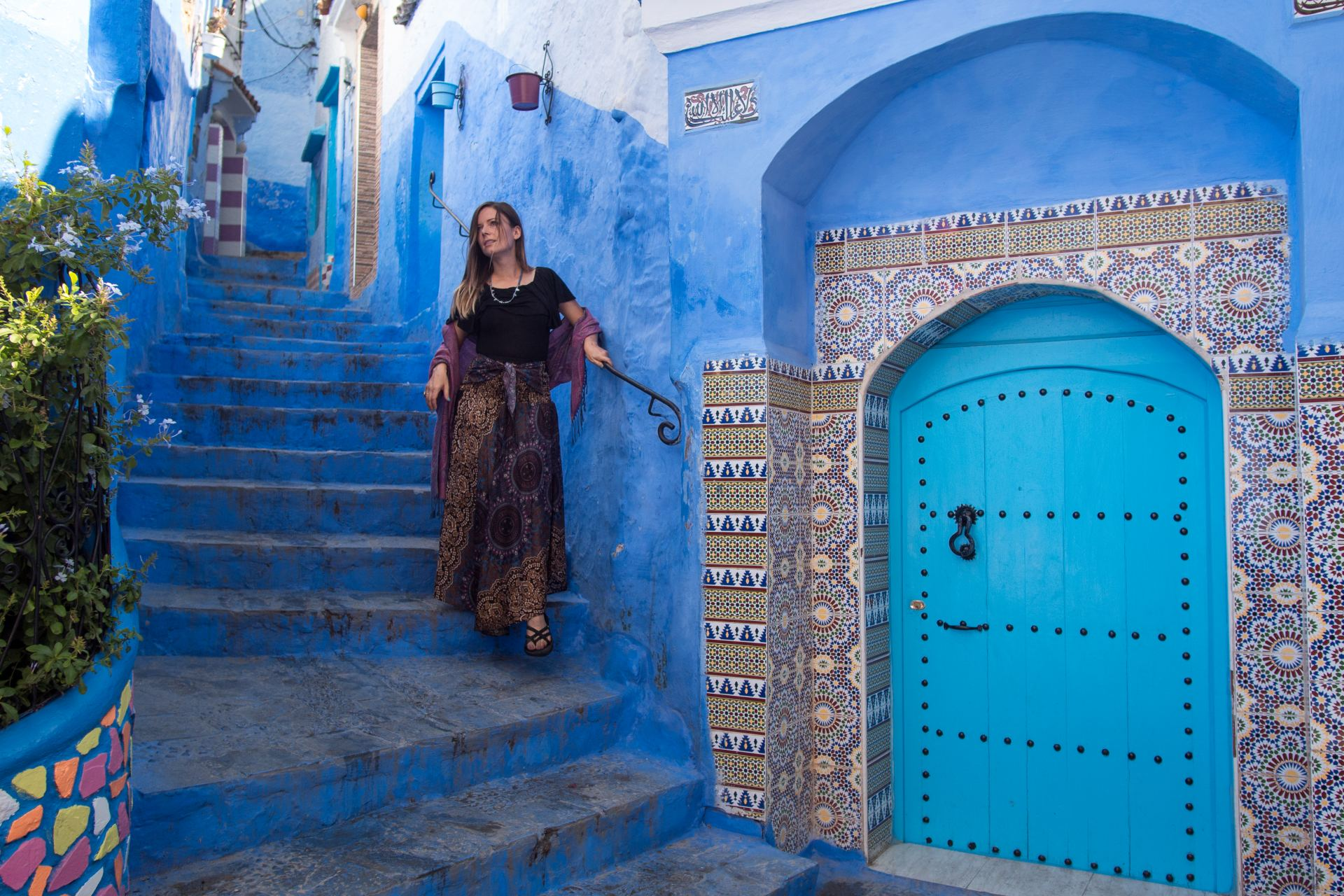 Blue City Morocco Travel Itinerary
