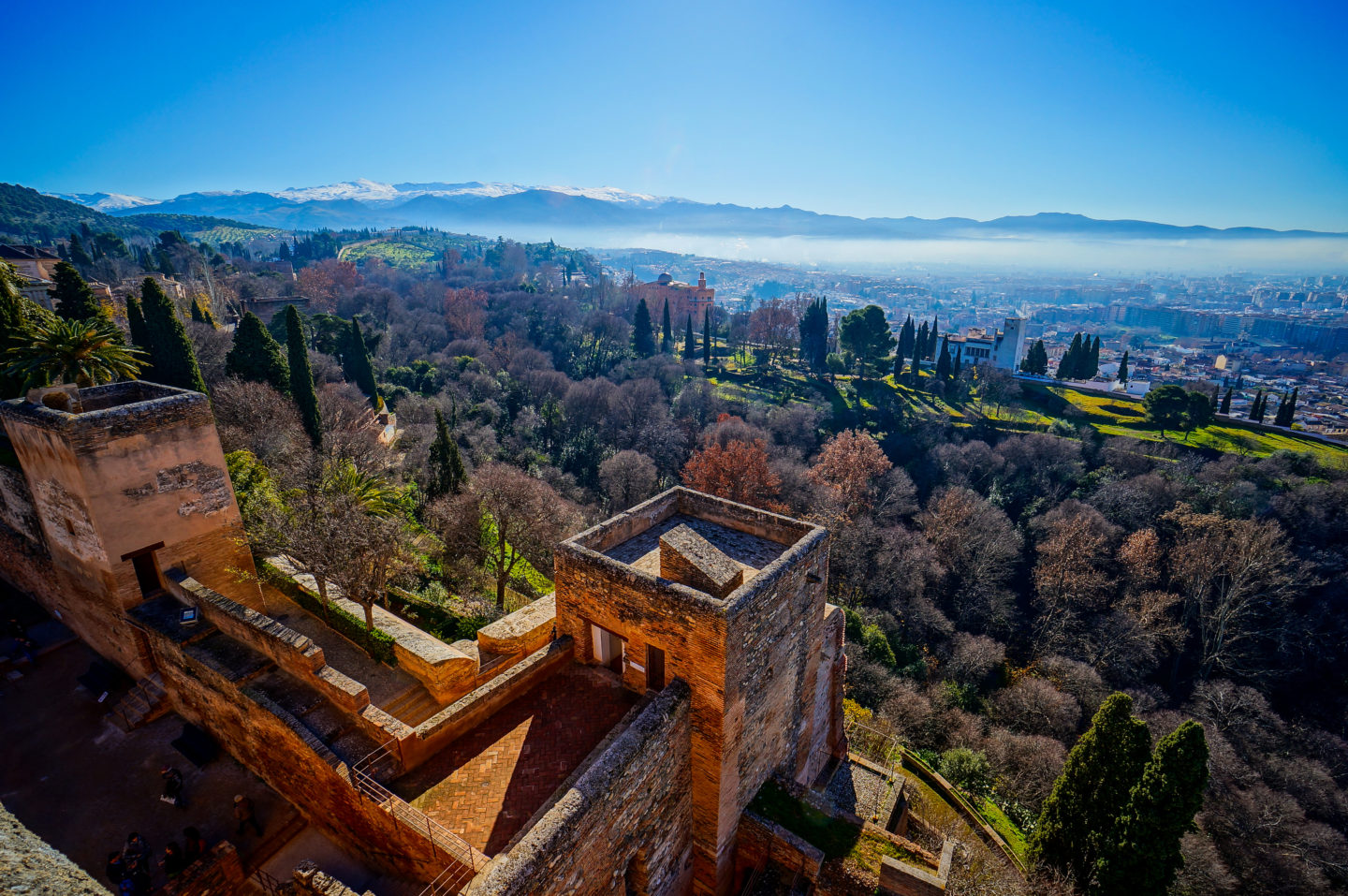 Alhambra: Day visit to the famous palace in Spain
