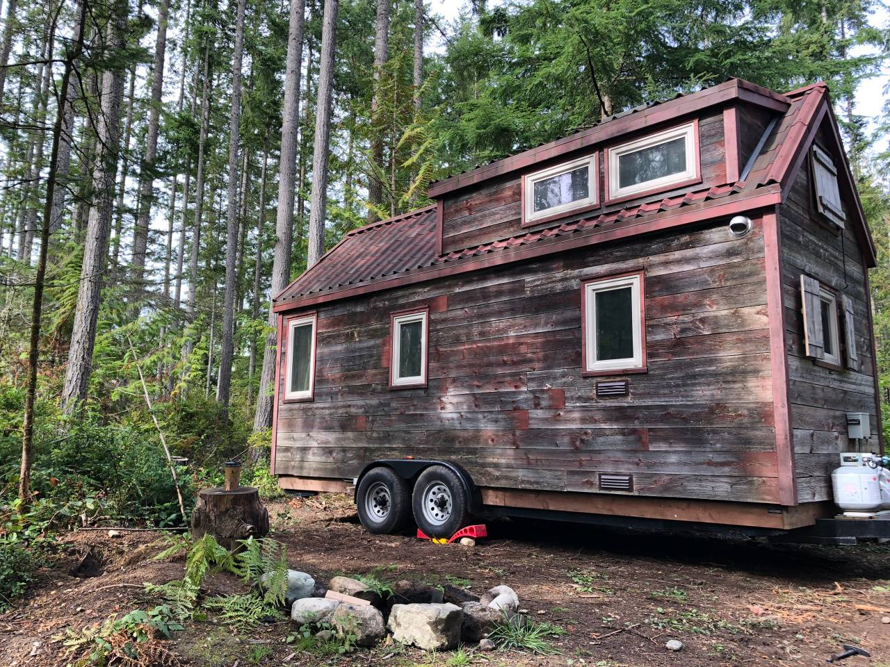 Tiny Home Parking. How I Found a New Idyllic Location!