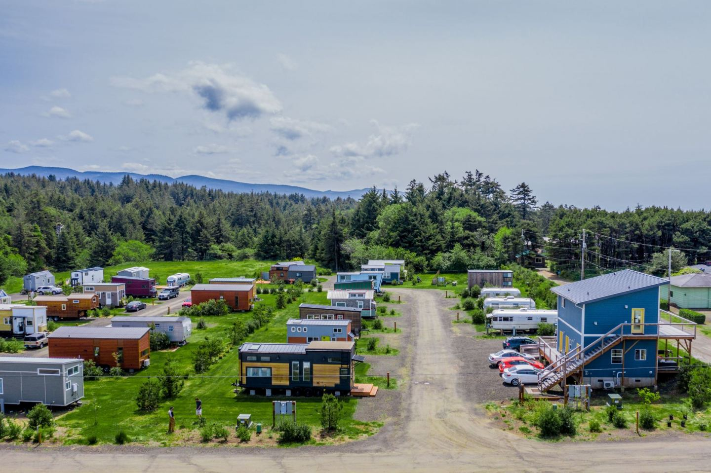 The Ideal Tiny House Community is Located on the Coast of Oregon!