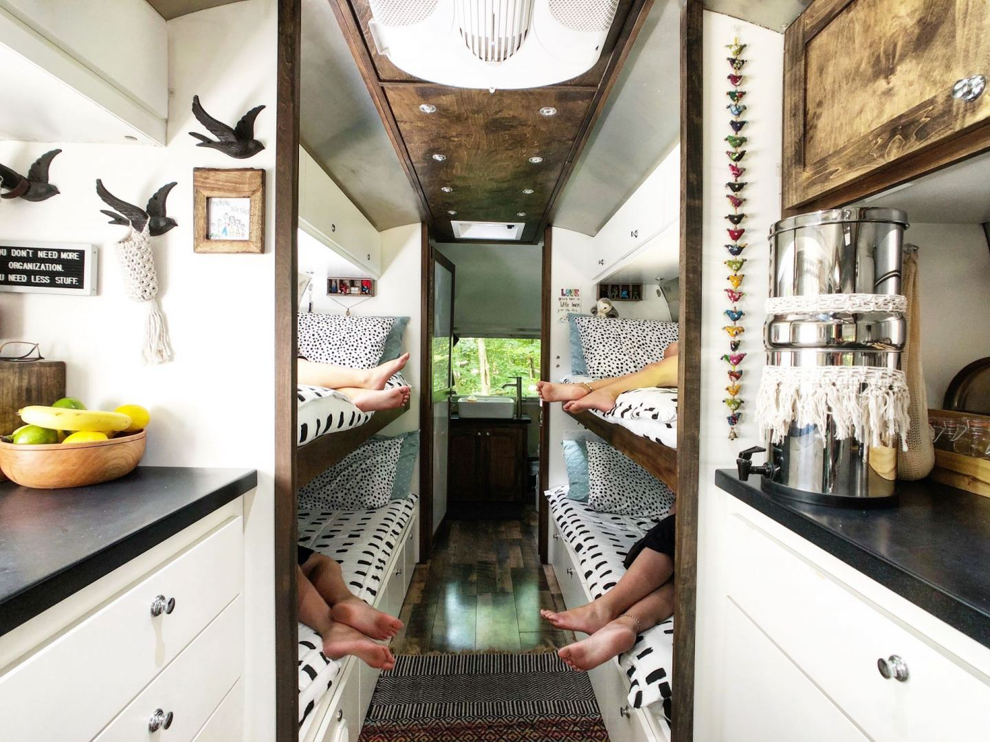 Family of 6 Living in a Renovated Vintage Airstream